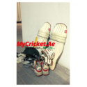 Pads, Gloves, Helmet, 2 x Cricket Shoes
