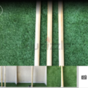 Cricket spring back Stumps / Wickets ( with bails )